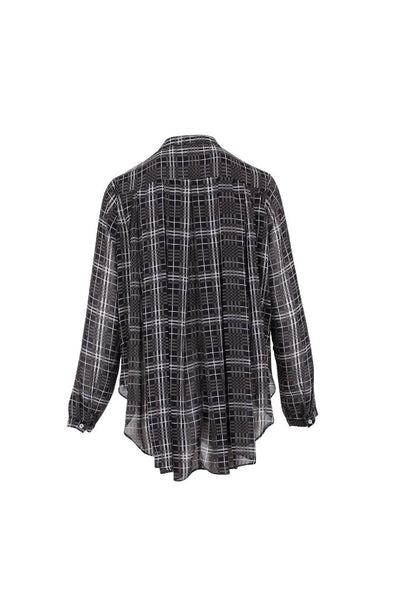 PERFECT PLAID GEORGETTE PRINT