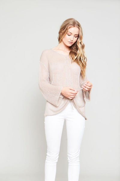 GATHER FRONT KNIT