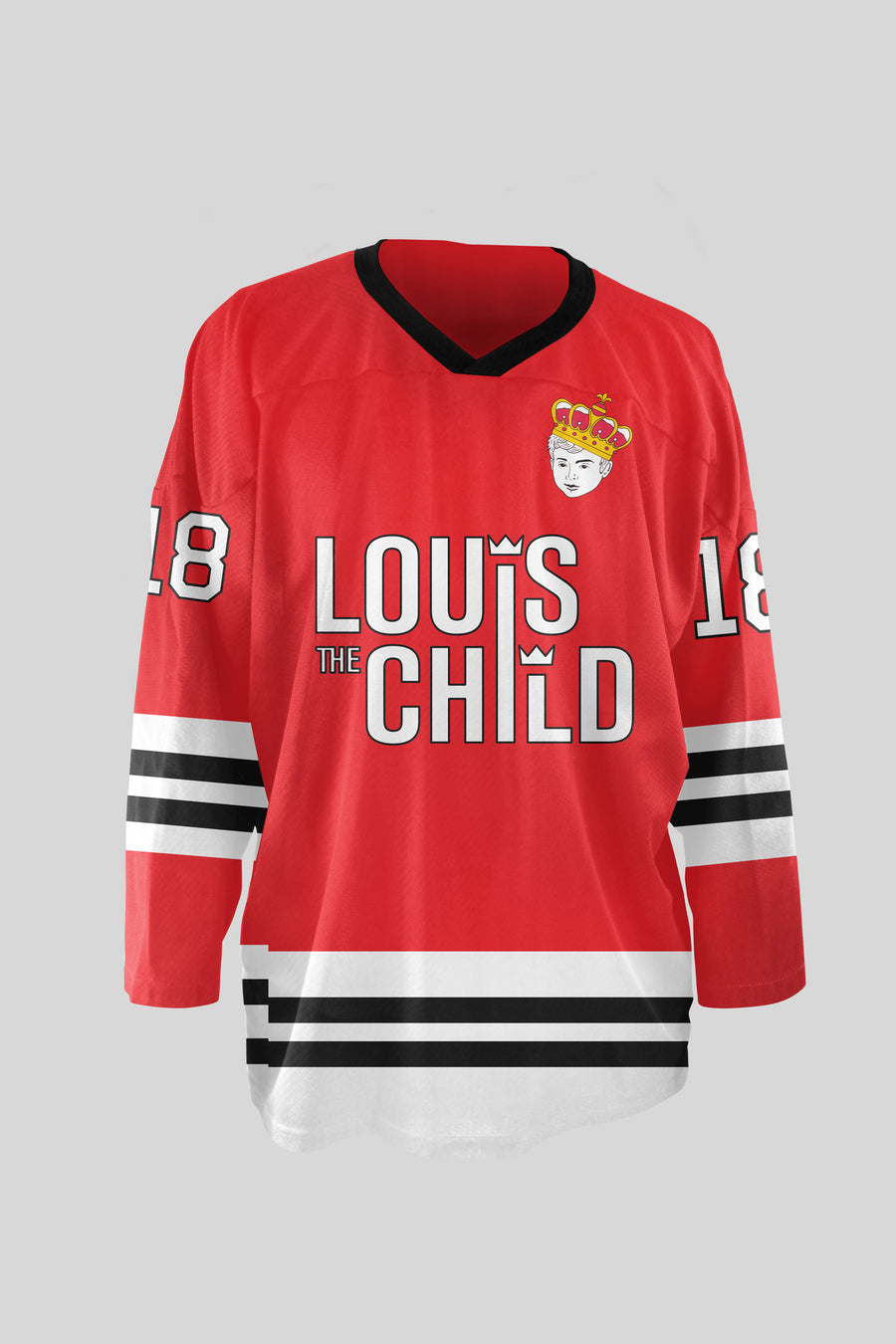 LTC Retro Hockey Jersey - Red