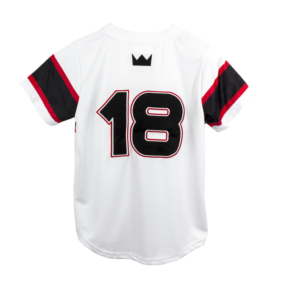 LTC Retro Baseball Jersey / White