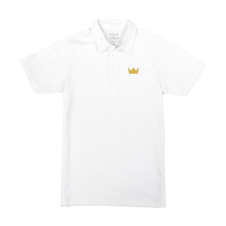 LTC Crown Embroidered Polo