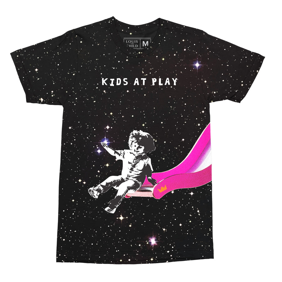 Kids At Play Space Tee