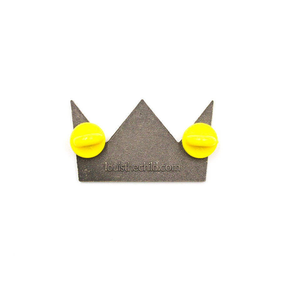 Crown Enamel Pin / Gold