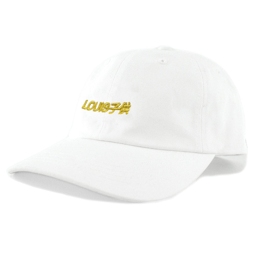Louis Kodomo Dad Hat / White