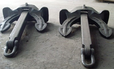Stockless Anchor