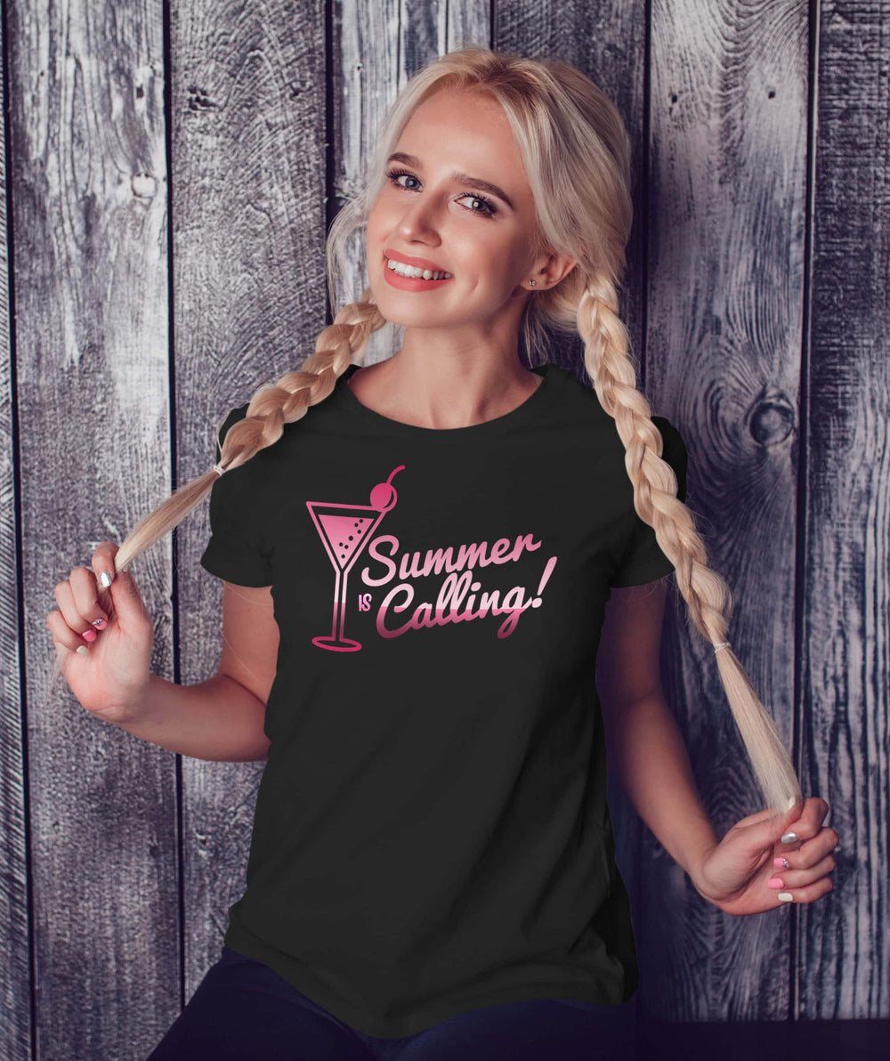 Beach Theme  Summer Is Calling Tshirt