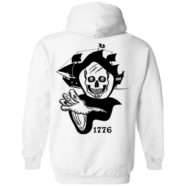 Nautical Theme Mens Hoodie