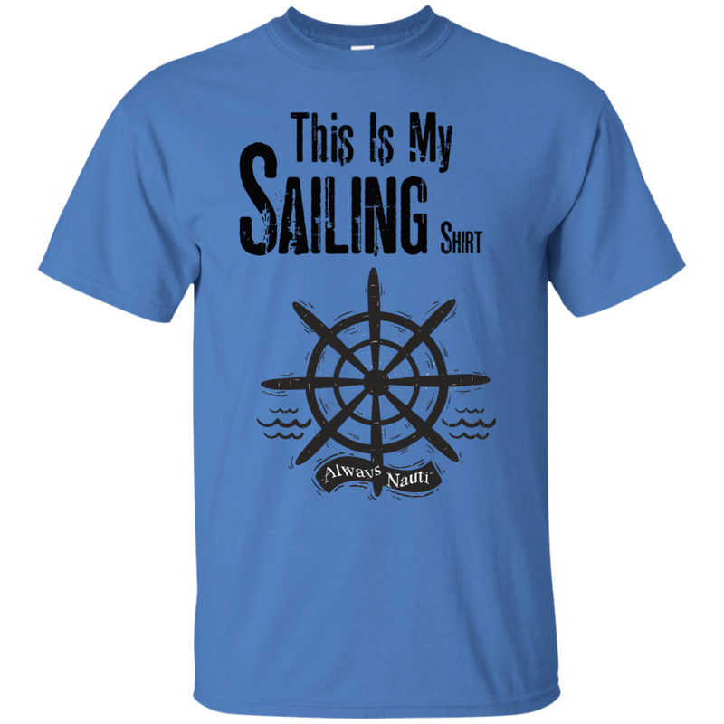 This Is My Sailing Shirt Boys Youth Cotton Tee
