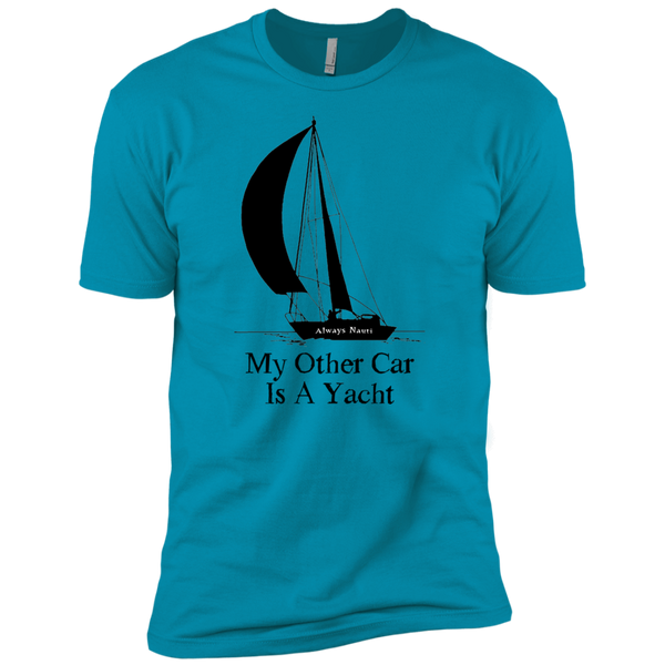 Nautical Fashion Sea Themed TShirt For Men - My Other Car Is A Yacht