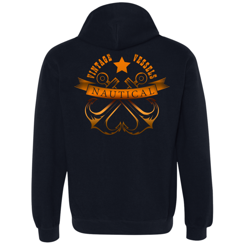Nautical Sea Themed Hoodie For Men