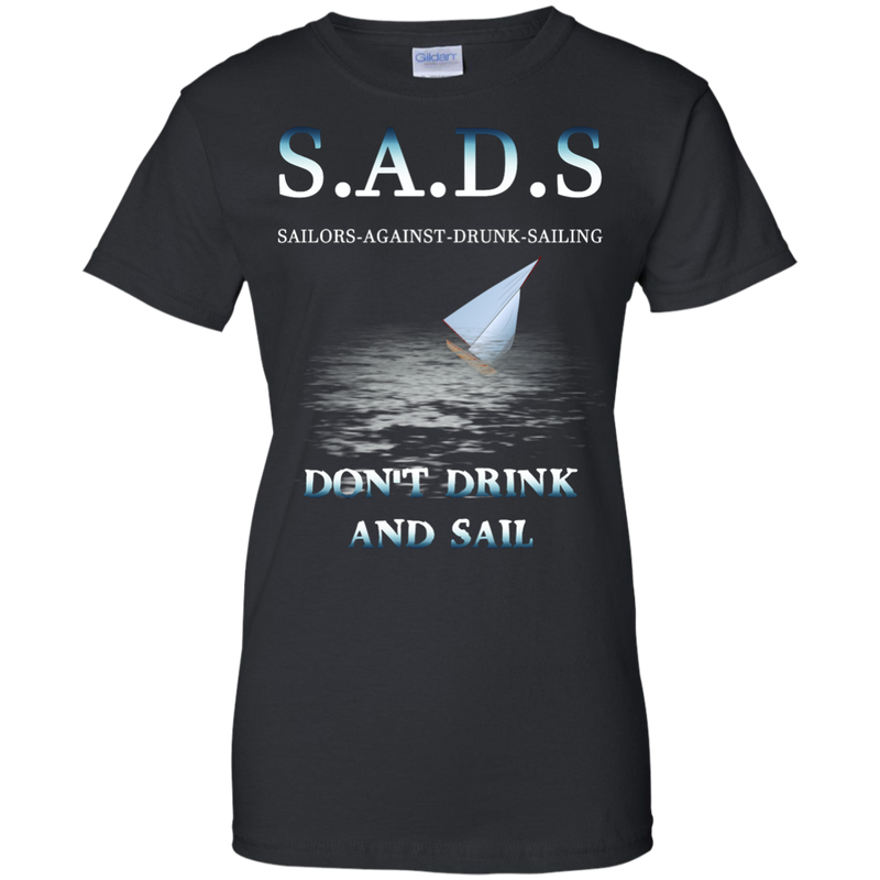 SADS - Sailors Against Drunk Sailing Women's Cotton T-Shirt