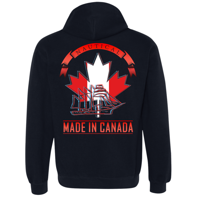Nautical Fashion Clothing - Made In Canada Hoodie