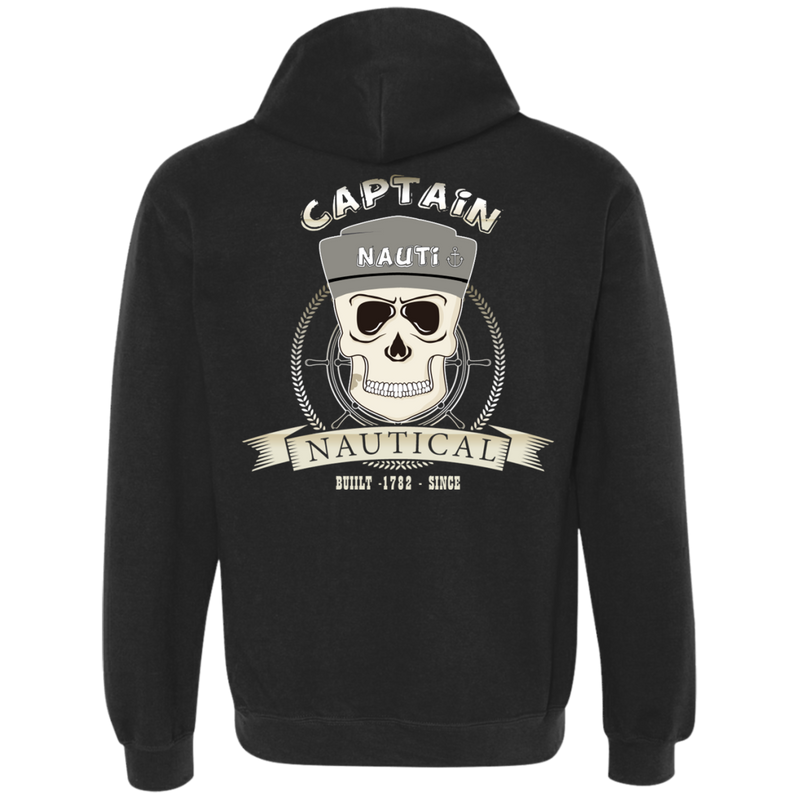 Nautical Themed Hoodie - Captain Nauti