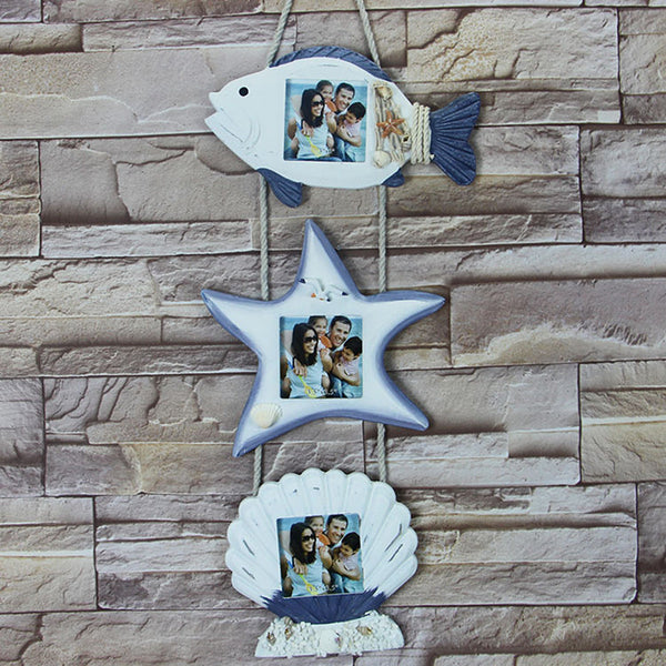 Natical Decor Featuring Decorative Hanging Photo Frames 2