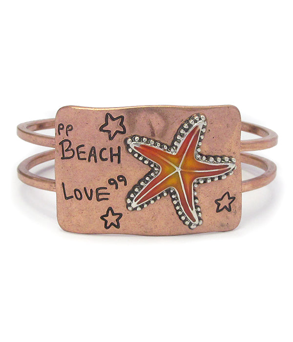Rustic Look Beach Bangles
