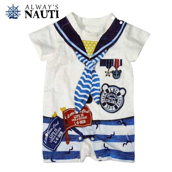 Nautical Baby Sailor Jumper