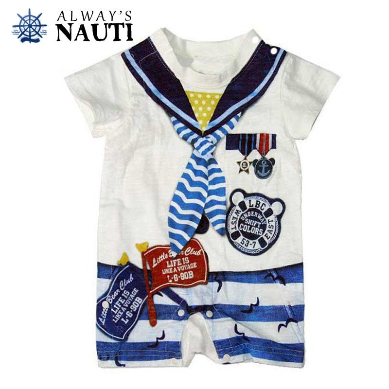Nautical Newborn Baby Clothing