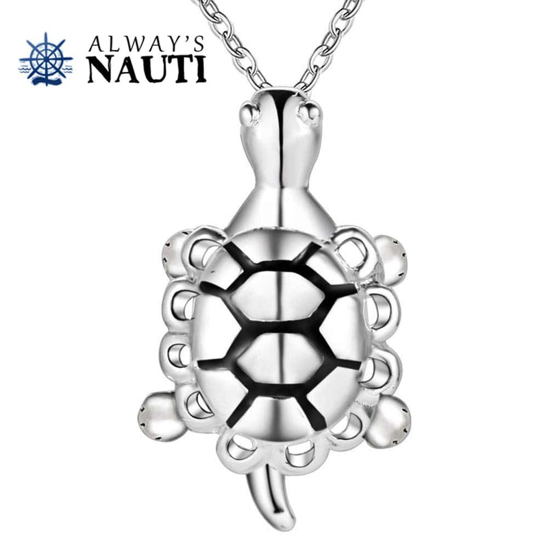 Sea Turtle Nautical Necklace Jewelry
