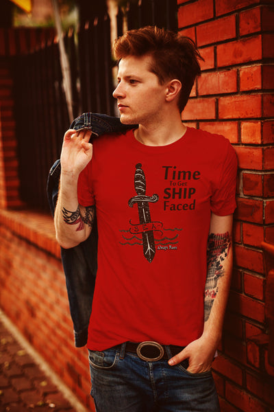 Unique Nautical Style Shirt - Time To Get Ship Faced