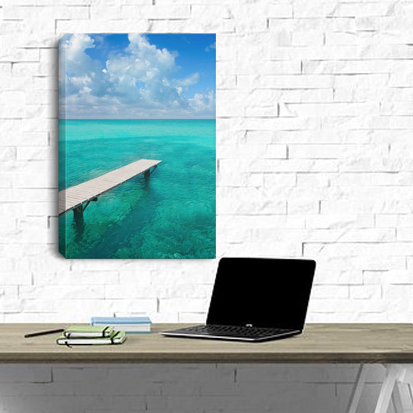 Nautical Wall Decor Tranquility Canvas
