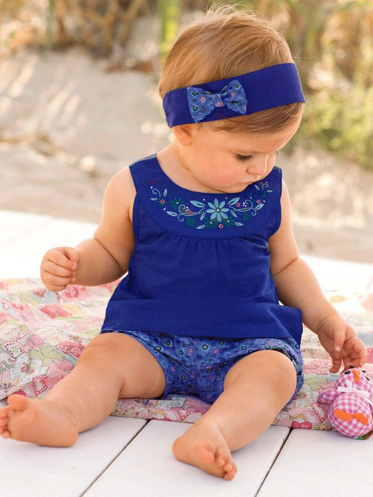Summer Days Forever - Blue 3 piece set for Girls