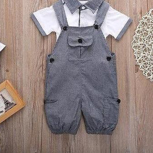 Overall a Gentleman - 2 piece boys set
