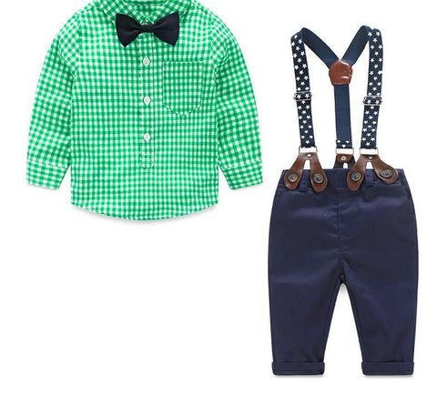 Bow-tiful Little Man - 2 piece boys set
