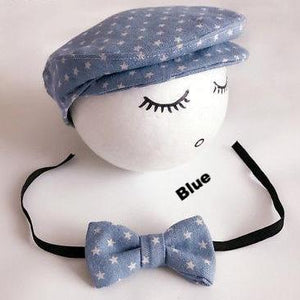 Little Grandpa - Cap and bow tie set