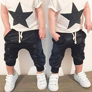 Rockstar Dude - 2 Piece boys casual set