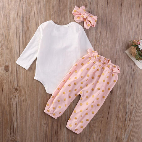 Bippity Boppity Dots - 3 Piece girls set