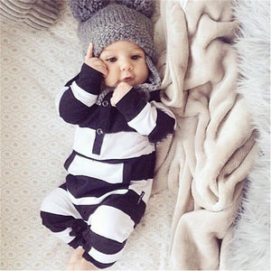 Black, White & Endless Love - Unisex Romper Jumpsuit