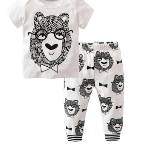 Little Forest Creatures - unisex 2 piece set