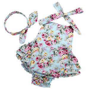 Sweet like Roses - Floral girls 2 piece set