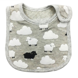 Baa Baa Black Sheep - Unisex Bib