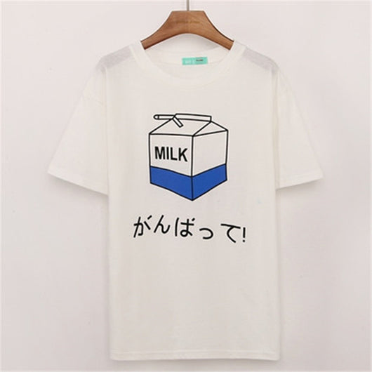 PEACH HARAJUKU SHIRT