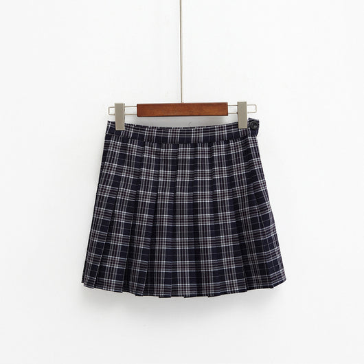 PLAID PLEATED SKIRTS