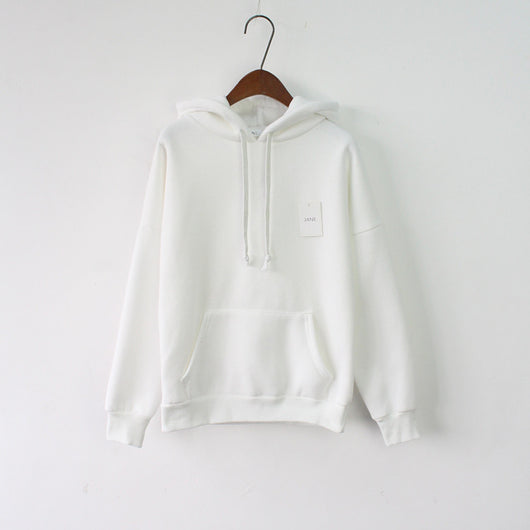 SIMPLE SOLID COLOUR HOODIES