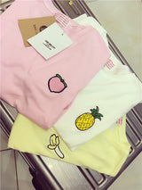 FRUIT EMBROIDERED TEE