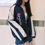 ROSE BASEBALL JACKET