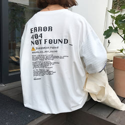 ERROR 404 LONG SLEEVE