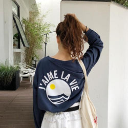 J'AIME LA VIE LONG SLEEVE