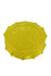 Yellow Plastic Acrylic Grinder with Sharp Teeth 3 inches