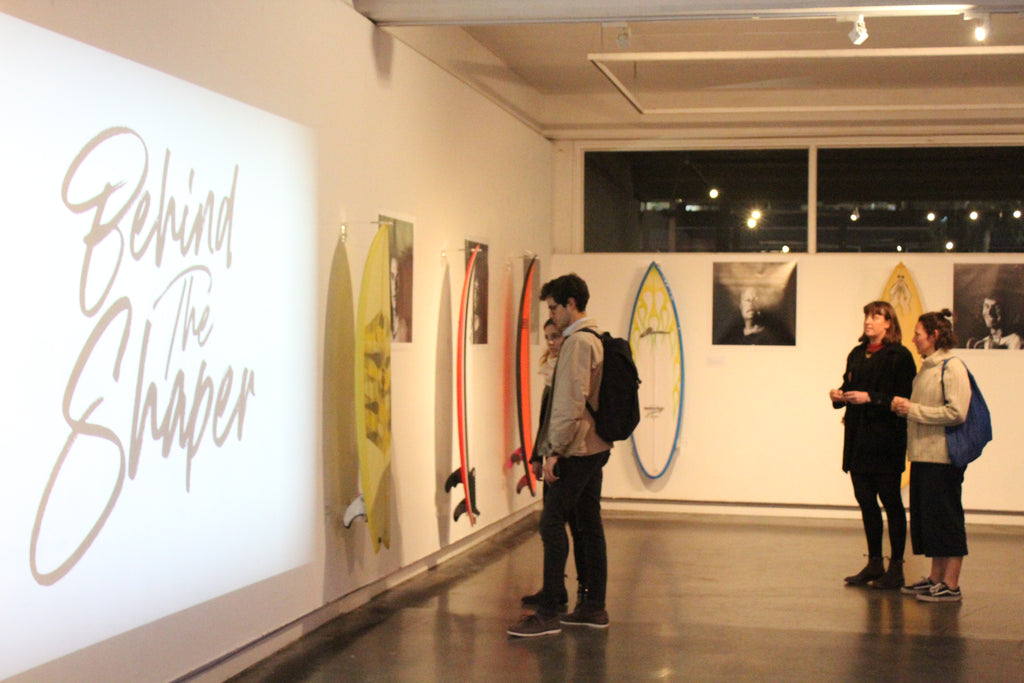 Behind The Shaper Exhibition