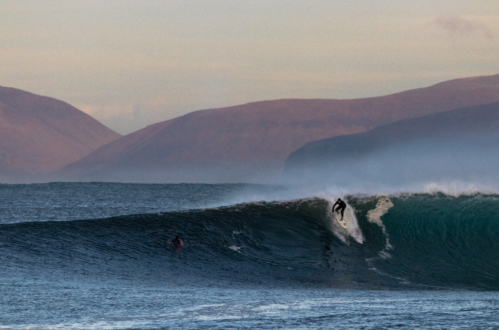Surfing Scotland by Samuel Howard
