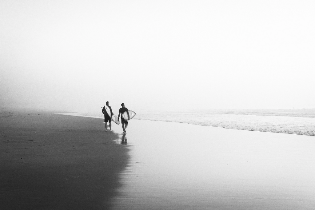 Foggy Surf check by Dominic Meler
