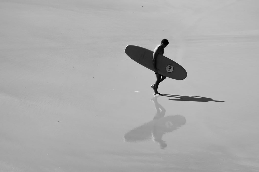 The Reflecting Surfer by Amelia Stothard