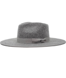 Gray Wool Fashion Hat