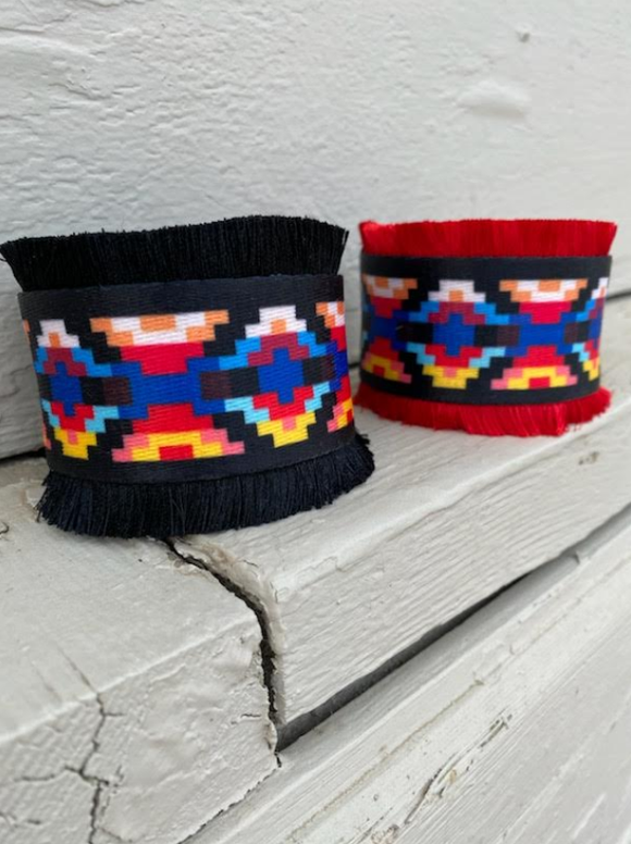 Fringe Tribal Cuff
