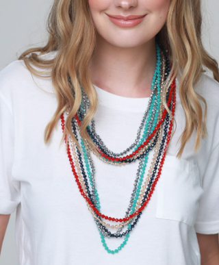 Beaded Strand Necklace