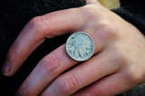 Indian Head Coin Ring